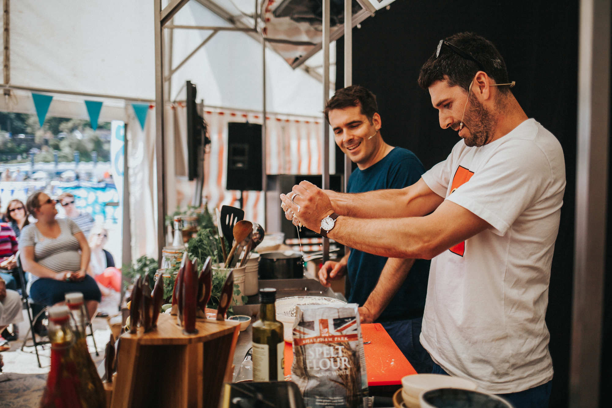 St Ives Food Festival - credit Lizzie Churchill