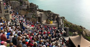 Minack Theatre storytelling Surfing - credit VisitCornwall