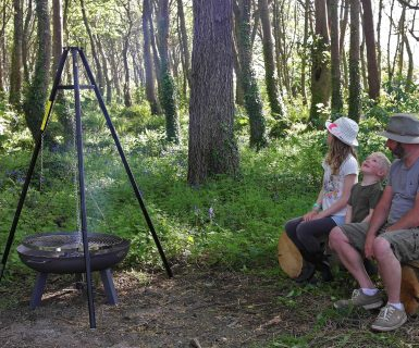 Wildflower Wood cooking
