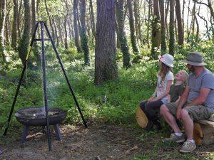 Wildflower Wood cooking