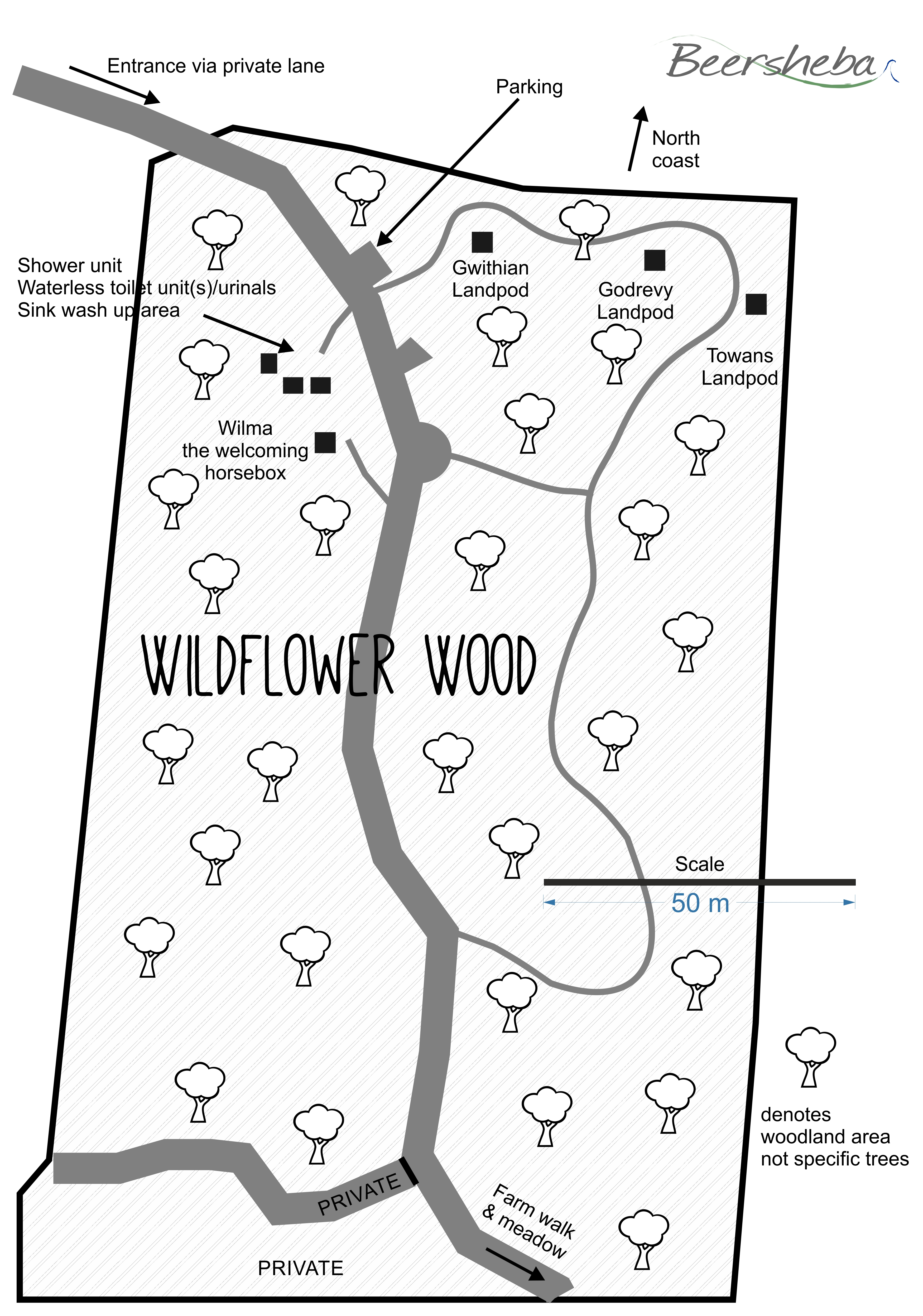 Wildflower Wood Plan