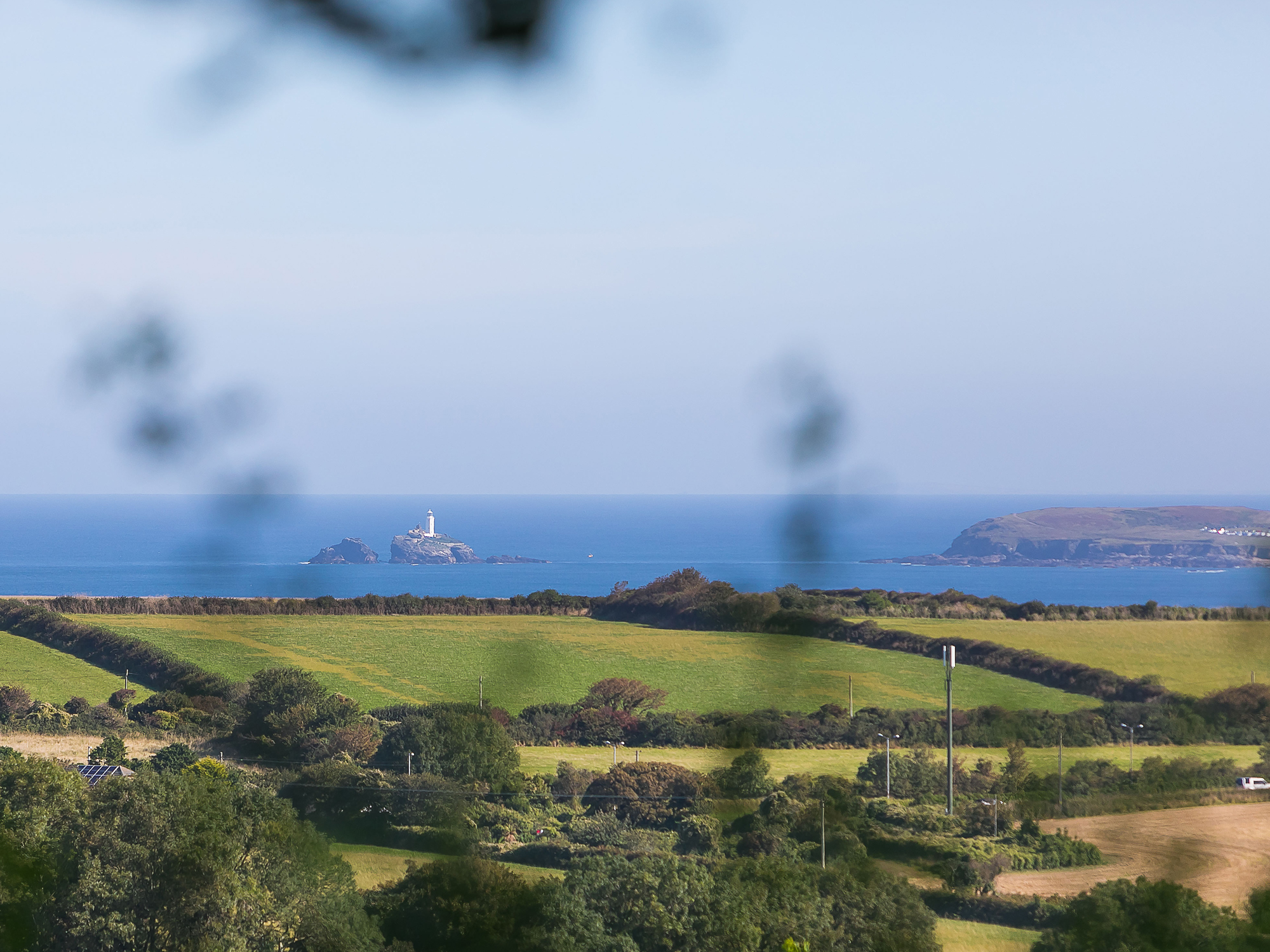 View towards Godrevy Lighthouse