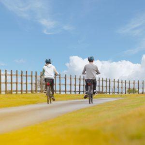 Bikes in Cornish lane