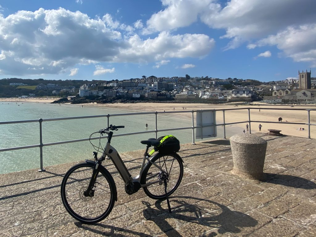 Ebike in St Ives